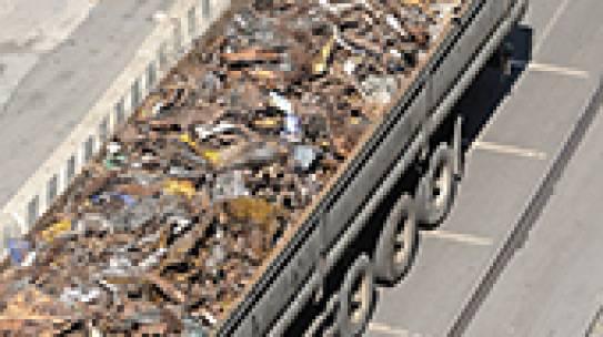 Rottami metallici: nuove modalità di raccolta e trasporto