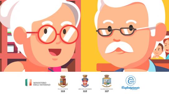 Al via la IV campagna contro le truffe agli anziani