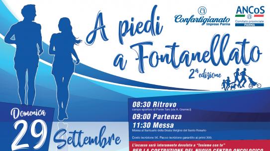 """""""A piedi a Fontanellato"""" il 29 settembre la seconda edizione"""