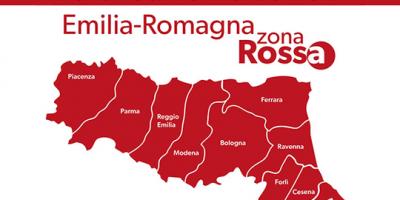 Fino al 6 aprile l'Emilia-Romagna sarà zona rossa