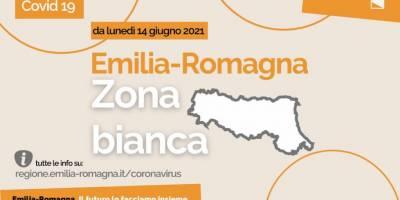 Da lunedì 14 giugno l'Emilia-Romagna è in zona bianca